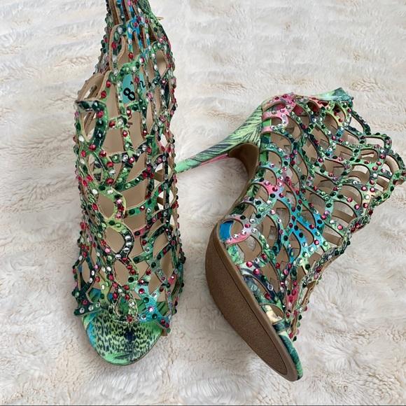 Duran Pumps Open Toe Stiletto Heel